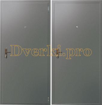 Металлическая дверь НЕО-DITM Мет+Мет (ППС)