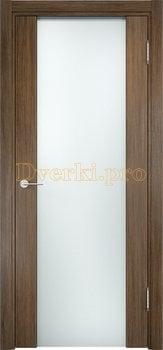 1156, Дверь Сан-Ремо 01 венге мелинга, остекленная, белый триплекс, 17150, 10 625.00 р., 1156-01, , Экошпон Премиум