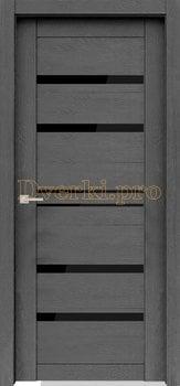 Дверь Велюкс 1 ясень грей, остекленная