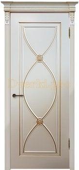 Дверь Фламенко RAL 9001 (золото), глухая