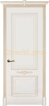 Дверь Паула слоновая кость (шампань), глухая