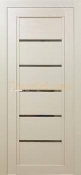 Дверь Т-3 керамика, остекленная, Экошпон Стандарт