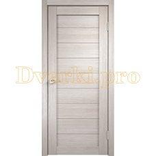 Дверь X-1 лиственница белая, глухая