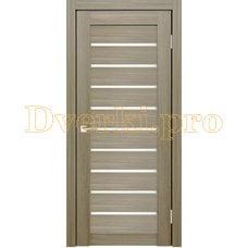 Дверь X-2 неаполь, остекленная