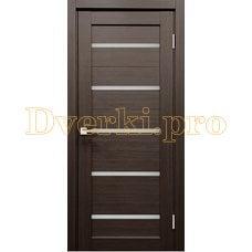 Дверь X-3 грей, остекленная