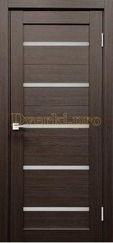 4110, Дверь X-3 лиственница белая, остекленная, , 3 645.00 р., 4110-01, , Экошпон Стандарт