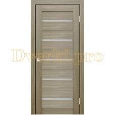 Дверь X-3 неаполь, остекленная