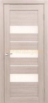 4114, Дверь X-7 лиственница белая, остекленная, , 3 645.00 р., 4114-01, , Экошпон Стандарт