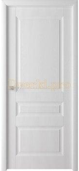 Дверь Каскад белый ясень, глухая, , 4 065.00 р., 4143-01, , Облицованные ПВХ