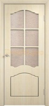 4072, Дверь Лидия беленый дуб, глухая, , 3 600.00 р., 4072-01, , Облицованные ПВХ