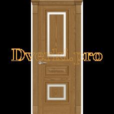 Дверь Элеганс 3 дуб медовый, остекленная