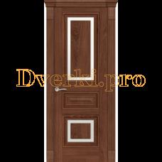 Дверь Элеганс 3 дуб миндаль, остекленная