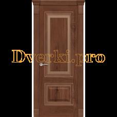 Дверь Элеганс 4 дуб миндаль, остекленная