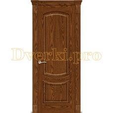 Дверь Калисто дуб мореный, глухая