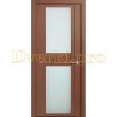Дверь H-II белое стекло