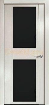 Дверь H-II черное стекло