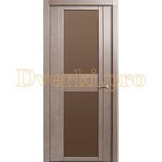Дверь H-II бронзовое стекло