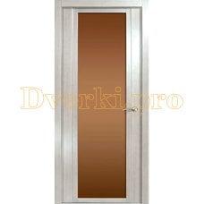 Дверь H-IV бронзовое стекло
