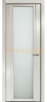 Дверь H-IV белое стекло