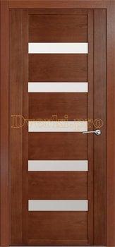 Дверь H-V белое стекло