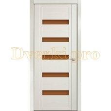 Дверь H-V бронзовое стекло