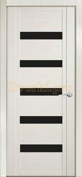 Дверь H-V черное стекло
