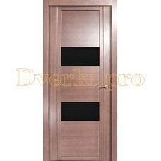 Дверь H-VII черное стекло