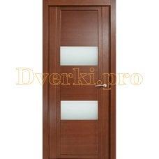 Дверь H-VII белое стекло