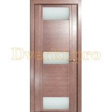 Дверь H-VIII белое стекло