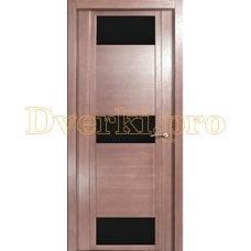 Дверь H-VIII черное стекло