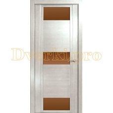 Дверь H-VIII бронзовое стекло