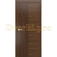 Дверь PLAIN 1 американский орех, глухая