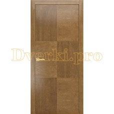Дверь PLAIN 3 дуб янтарный, глухая