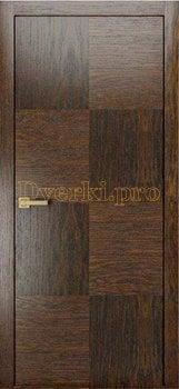 Дверь PLAIN 4 дуб коньячный, глухая