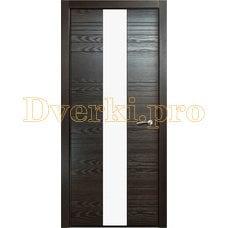 Дверь V-V стекло белое