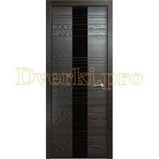 Дверь V-V секло черное