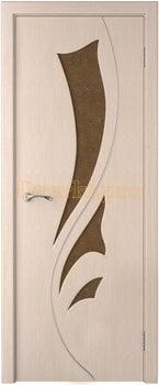 4088, Дверь Лидия беленый дуб, глухая, , 4 915.00 р., 4088-01, , Двери шпон Стандарт