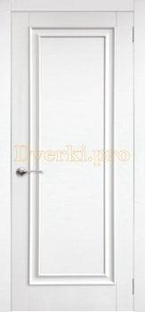 Дверь Модена белая эмаль, глухая