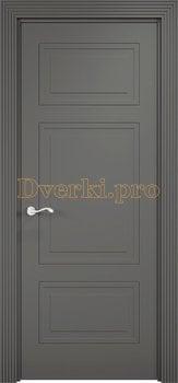 3407, Дверь Париж 05 софт графит, глухая, 26277, 5 905.00 р., 3407-01, , Двери Эмалит Классика