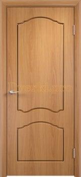 505, Дверь Лидия миланский орех, глухая, 11612, 3 600.00 р., 505-01, , Двери облицованные ПВХ
