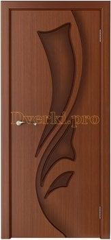 1047, Дверь Лидия макоре, глухая, 15463, 4 550.00 р., 1047-01, , Двери шпон Стандарт