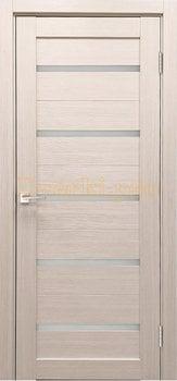 3802, Дверь X-3 лиственница кремовая, остекленная, 29598, 3 645.00 р., 3802-01, , Двери экошпон Стандарт