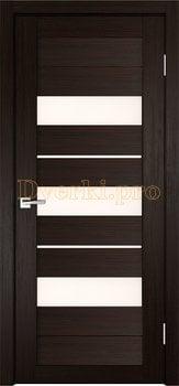 3864, Дверь X-7 венге, остекленная, 29660, 3 645.00 р., 3864-01, , Двери экошпон Стандарт