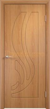 270, Дверь Лиана миланский орех, глухая, 11187, 3 905.00 р., 270-01, , Двери облицованные ПВХ