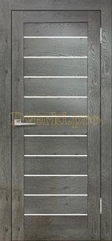 3600, Дверь Бавария 04 3Д-Люкс дуб эдисон серый, остекленная, 27508, 3 065.00 р., 3600-01, , Двери экошпон Лайт