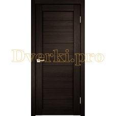 Дверь X-1 венге, глухая