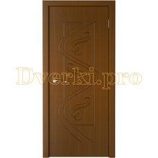 Дверь Вега орех, глухая