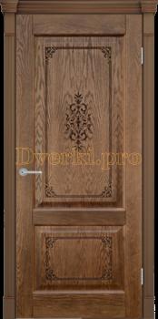 2745, Дверь Шервуд 3D миндаль, глухая, 22417, 9 475.00 р., 2745-01, , Двери шпон Комфорт