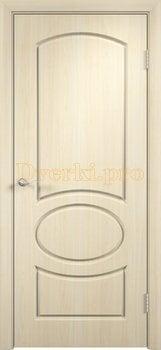 581, Дверь Неаполь беленый дуб, глухая, 11688, 4 225.00 р., 581-01, , Двери облицованные ПВХ