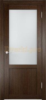 2009, Дверь Баден 04 дуб табак, остекленная, 20934, 3 240.00 р., 2009-01, , Двери Eldorf экошпон с 3D покрытием